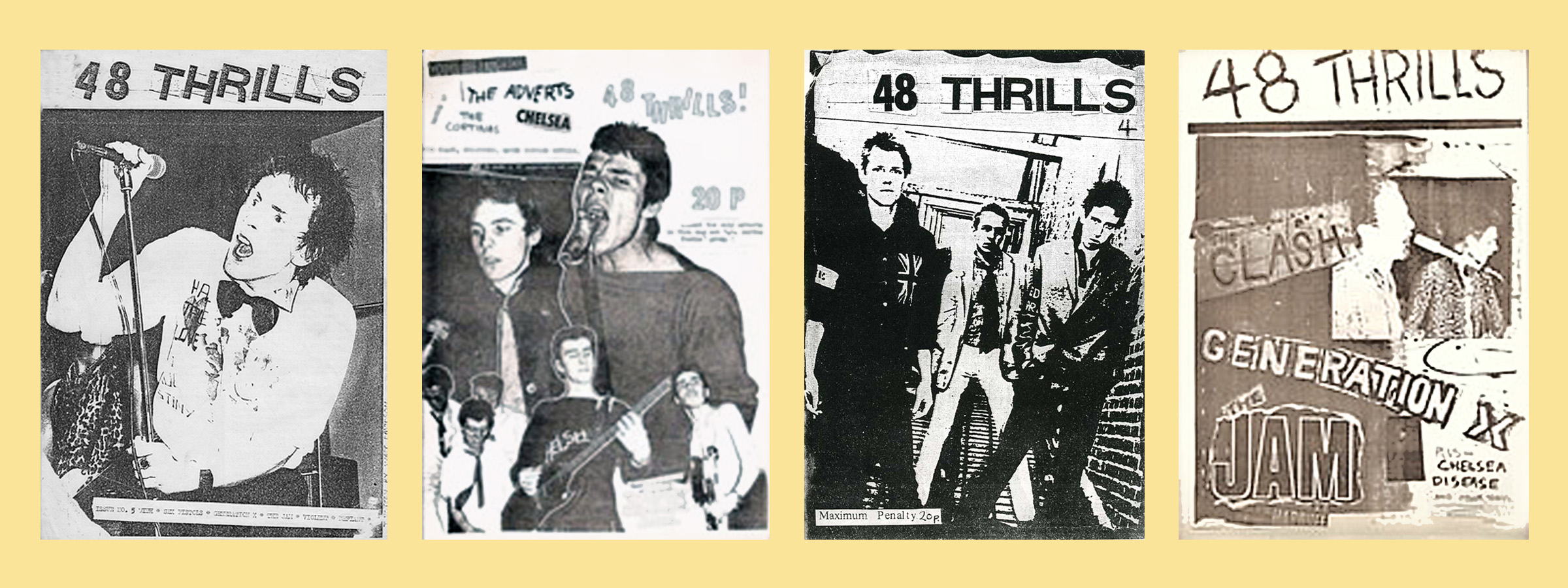 1960s Furniture Punk And New Music Fanzines Late 1970s To Early 1980s