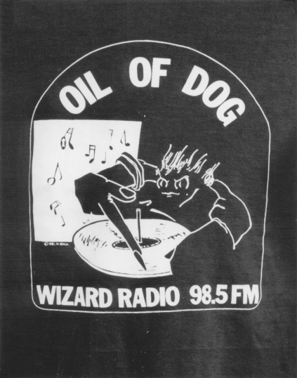 Oil of Dog Logo